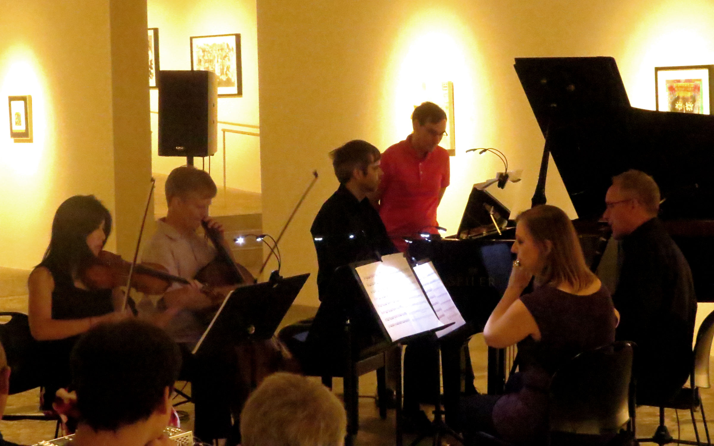 Sonic Generator concert at MOCA-GA engages with 5 solos and an