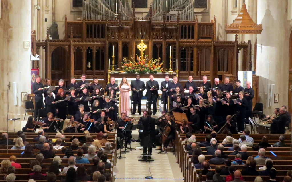 "Atlanta Baroque Orchestra, St. Philip's Cathedral Schola perform Purcell's ""Ode on St. Cecilia's Day."""