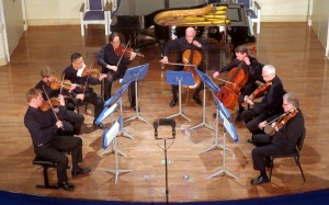 Mendelssohn's Octet in E-flat major concluded the concert.