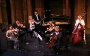 Atlanta Chamber players at Atlanta Shakespeare Tavern, October 7, 2014. (credit: Mark Gresham)