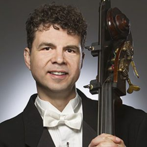 Composer and Atlanta Symphony contrabassist Michael Kurth (credit: Jeff Roffman)