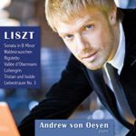 Andrew von Oeyen's 2011 solo debut CD featured Liszt's Sonata in B miinor.