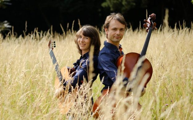 Edenwood Duo: guitarist Catherine Struys and cellist Wouter Vercruysse