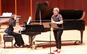 "Erika Tazawa and Jan berry baker play ""Two Preludes"" by Dorothy Chang"