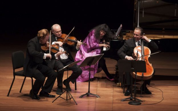 Chamber Music Society of Lincoln Center with violinist Daniel Hope (credit: Tristan Cook)