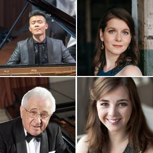 Clockwise from upper left: David Fung, Lisa Stepanova, Sarah Schafer and Peter Frankl. (credits: Nils Ribi, Jiyang-Chen, Vanessa Briceno, Yale University)