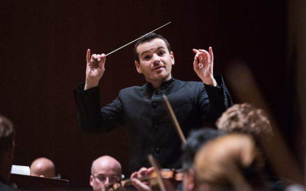 Guest conductor Lionel Bringuier. (credit: Jeff Roffman)