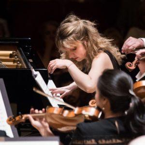Lise de la Salle is piano soloist in Ravel's Piano Concerto. (credit:Jeff Roffman)