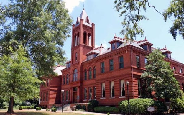 The historic Madison-Morgan Cultural Center in Madison, Georgia. (courtesy of MMCC)