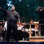 """bass Morris Robinson sings """"Ha wie will ich triumphieren"""" from Mozart's The Abduction from the Seraglio. (credit: Jeff Roffman)"""