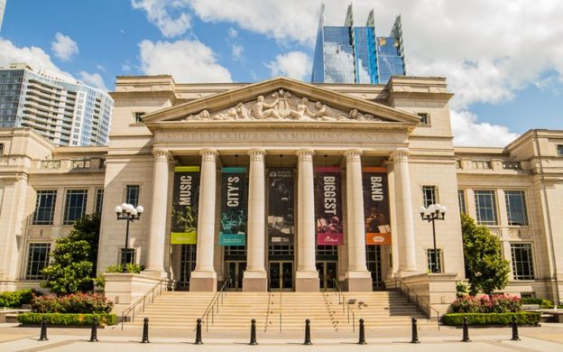 Schermerhorn Symphony Center, Nashville, home of the Nashville Symphony. (source: nashvillesymphony.org)