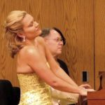 Pianists Julie Coucheron and William Ransom.