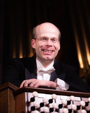 Dr. Jens Korndörfer, organist. (credit Julia Dokter)