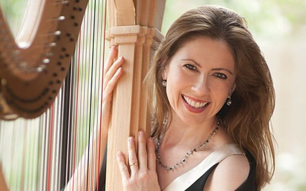 "Harpist Yolanda Kondonassis is featured soloist in Jennifer Higdon's ""Harp Concerto."" (credit: Robert Muller)"