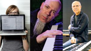 2020 competition judges: Rebecca Fiebrink, Jordan Rudess and Dave Smith. (source: Georgia Tech )