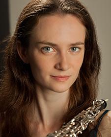 Oboist Mary Lynch. (source: Seattle Symphony)