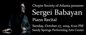 Sergei Babayan piano recital (ad)
