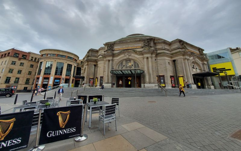Exterior of Usher Hall. (photo: William Ford)