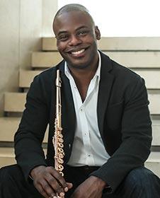 Flutist Demarre McGill.   (source: Seattle Symphony)