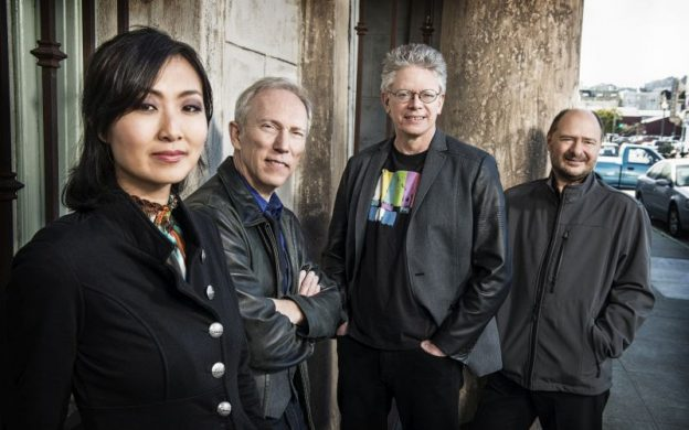 Kronos Quartet will perform with Mahsa Vahdat this Saturday at The Schwartz Center (credit: Jay Blakesberg)