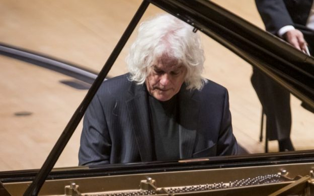 Pianist Ronald Brautigam performing Mozart's Piano Concerto No. 22 this week with the ASO and conductor Edo de Waart. (credit: Raftermen (edited))
