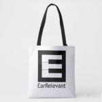 EarRelevant Tote Bag (n Zazzle)