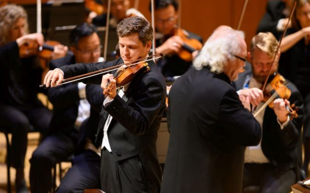 Violinist James Ehnes performs Tchaikovsky's Violin Concerto with the ASO and principal guest conductor Donald Runnicles. (credit: Rand Lines)