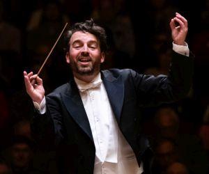 Guest conductor James Gaffigan. (credit: Nunnally Rawson)