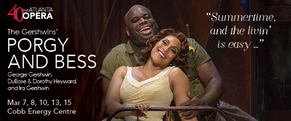 Ad: The Atlanta Opera, Porgy and Bess