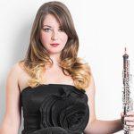 """Principal oboist Elizabeth Koch Tiscione solos with the Atlanta Symphony Orchestra this week in Ralph Vaughn Williams' """"Oboe Concerto."""" (source: ASO)"""