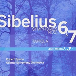 In 2013, ASO Media released a CD of Sibelius' Symphonies No. 6 and 7, along with Tapiola, as recorded by the Atlanta Symphony Orchestra with music director Robert Spano conducting.