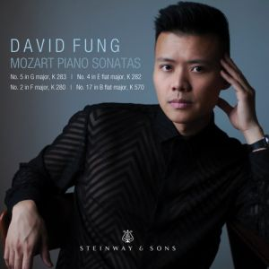 """David Fung, """"Mozart Piano Sonatas"""" Steinway & Sons 30107 Release: July 5, 2019 Total Length: 58:10"""