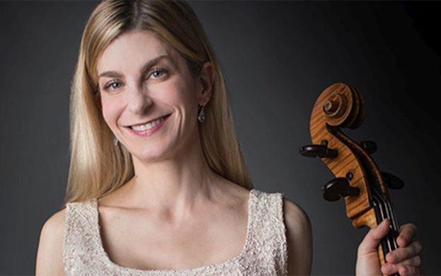 Cellist Karen Freer. (credit: Jeff Roffman)