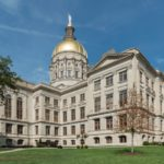 West view of the Georgia State Capitol. (source: Wikimedia Commons, by DXR. CC BY-SA 4.0)
