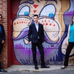 The Lyzander Pianio Trio is featured in this week's Atlanta Music Scene on WABE, in a performance recorded at Spivey Hall. (credit: Jiyang Chen)