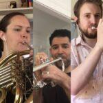 Tthe Atlanta Symphony Brass Quintet: Michael Moore, Kimberly Gilman, Michael Tiscione, Stuart Stephenson and Jeremy Buckler.(source: video still)
