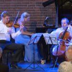 Violinisdt David Coucheron, pianist Julie Coucheron and cellist Efe Baltacigil. (source: video still)