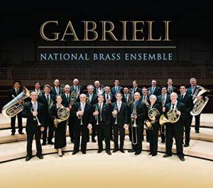 """Gabrieli"" National Brass Ensemble Release: October 9, 2015 Format: Audio CD Hybrid SACD - DSD Label: Oberlin Music"