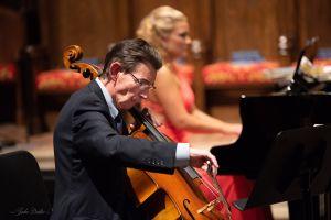 Christopher Rex, cello, and Julie Coucheron, piano. (credit: Julia Dokter)