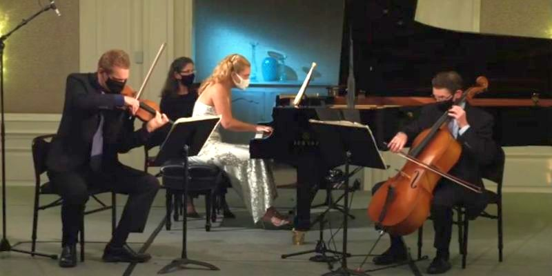 Christiania Piano Trio (video frame capture)