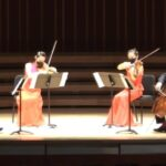 Vega Quartet with ASO concertmaster David Coucheron standing in as first violin. (video frame capture)