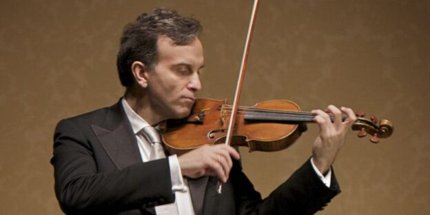 "Violinist Gil SHaham performed Beethoven's ""violin Concerto"" in the Atlanta Symphony Orchestra's virtual 2020-21 season opener this Thursday evening."
