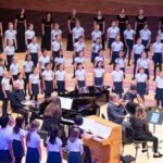 """iSing performs """"In Your Light,"""" one of two works by Daniel Elder on their new CD, Here I Stand. (source: isingsv.com)"""