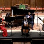 "Atlanta Chamber Players perform the world premiere of ""CROW"" by David Kirkland Garner. (source: video frame capture)"