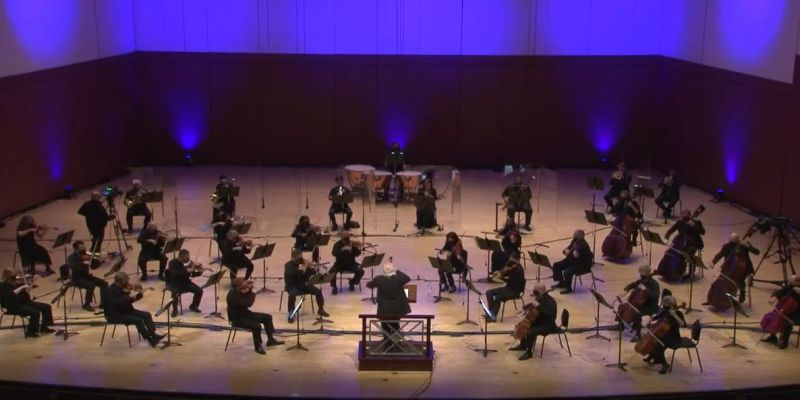 The Atlanta Symphony Orchestra, led by principal guest conductor Donald Runnicles, performs Haydn's Symphony No. 60. source: (video frame capture / ASO)