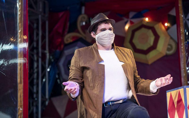 Richard Trey Smagur as Canio (credit: Raftermen)