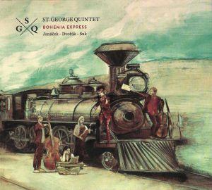 """""""Bohemia Express"""" St. George Quintet Janáček, Dvořák, Suk"""