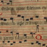 "Opening phrases of ""Conditor alme siderum"" - a seventh-century Latin hymn used during the Christian liturgical season of Advent. (English: ""Creator of the stars"")"