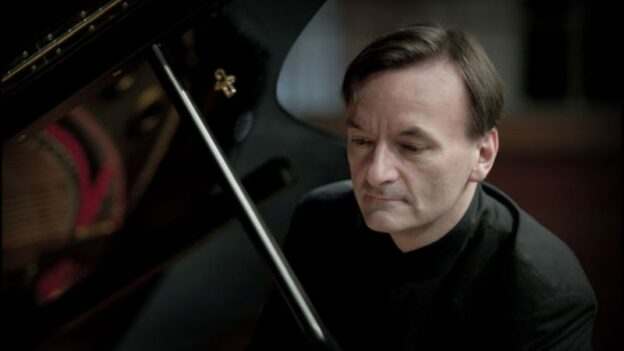 Pianist Stephen Hough (credit: Sim Canetty-Clarke)