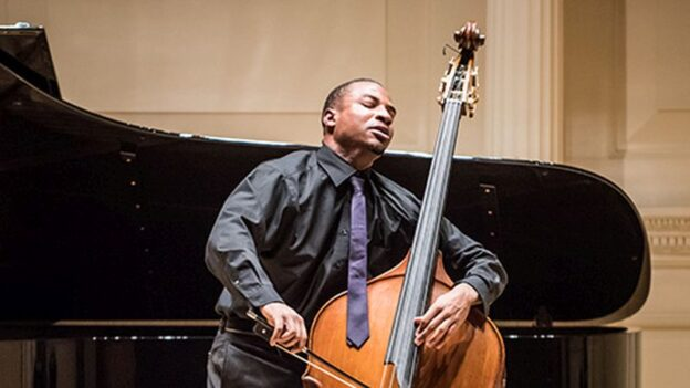 Contrabassist and composer Xavier Foley (credit: Adam Kissick)
